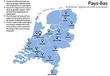 Carte des Pays-Bas