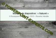 Masque Naturel